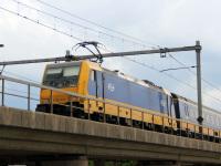 Амстердам. Bombardier Traxx F140 MS2 № 186 045