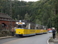 Бад-Шандау. Gotha T57 №2, Gotha B2-62 №21, Gotha B2D (Tatra) №26