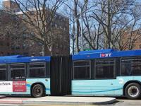 Нью-Йорк. Novabus LFS Artic BA2581