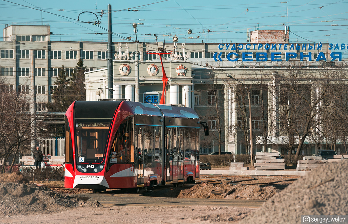 Санкт-Петербург. 71-923М Богатырь-М №8942