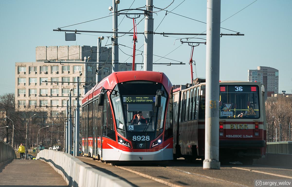 Санкт-Петербург. 71-931М Витязь-М №8928