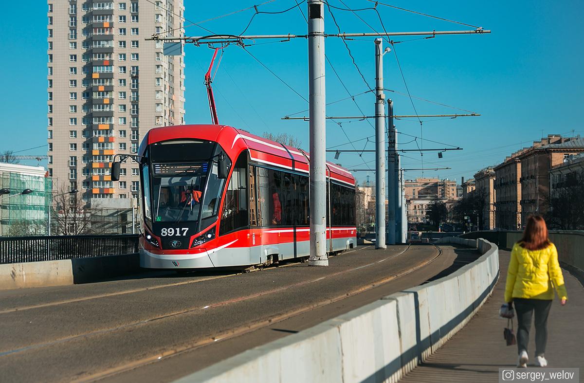 Санкт-Петербург. 71-931М Витязь-М №8917
