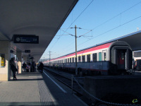 Вена. Западный вокзал (Westbahnhof)