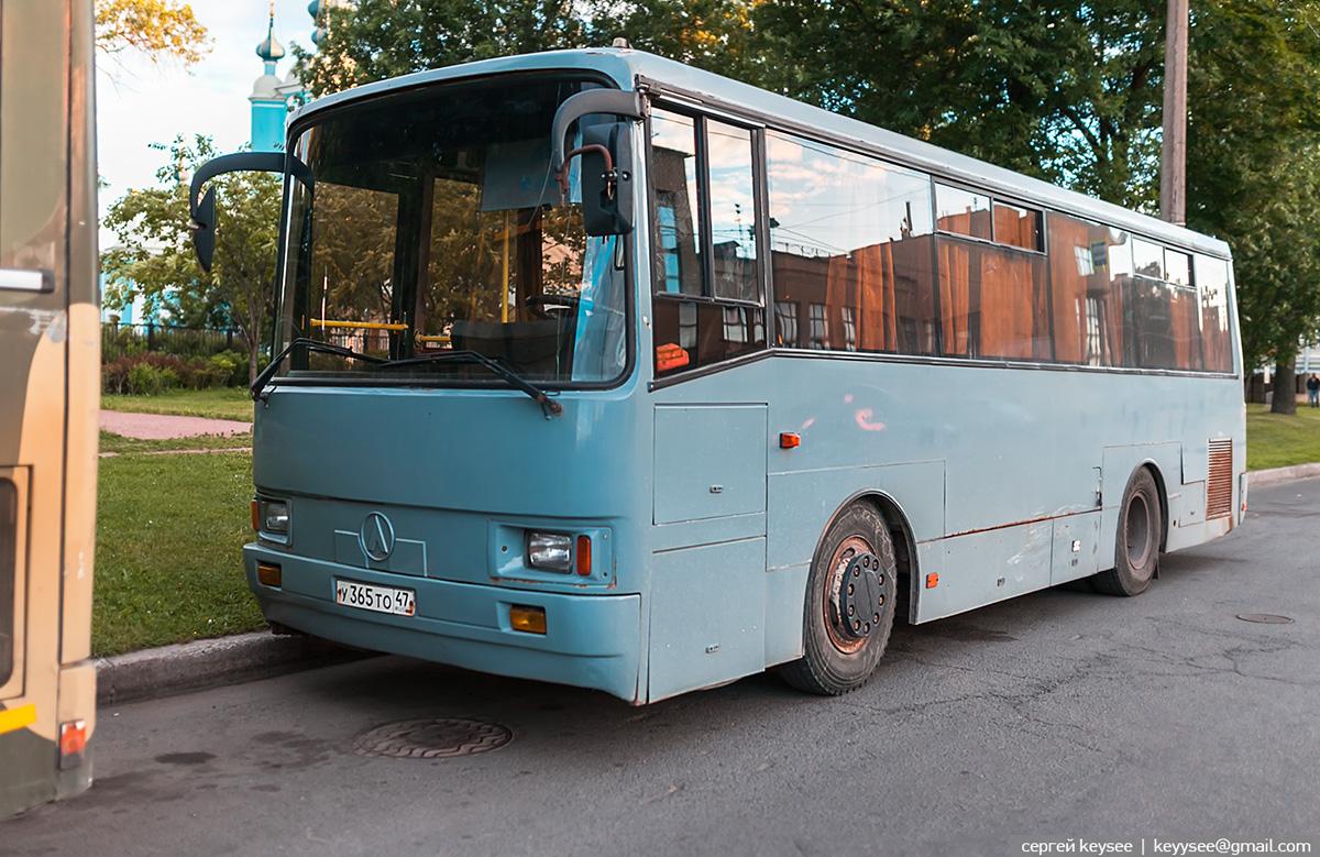 Санкт-Петербург. ЛАЗ-А1414 Лайнер-9 у365то