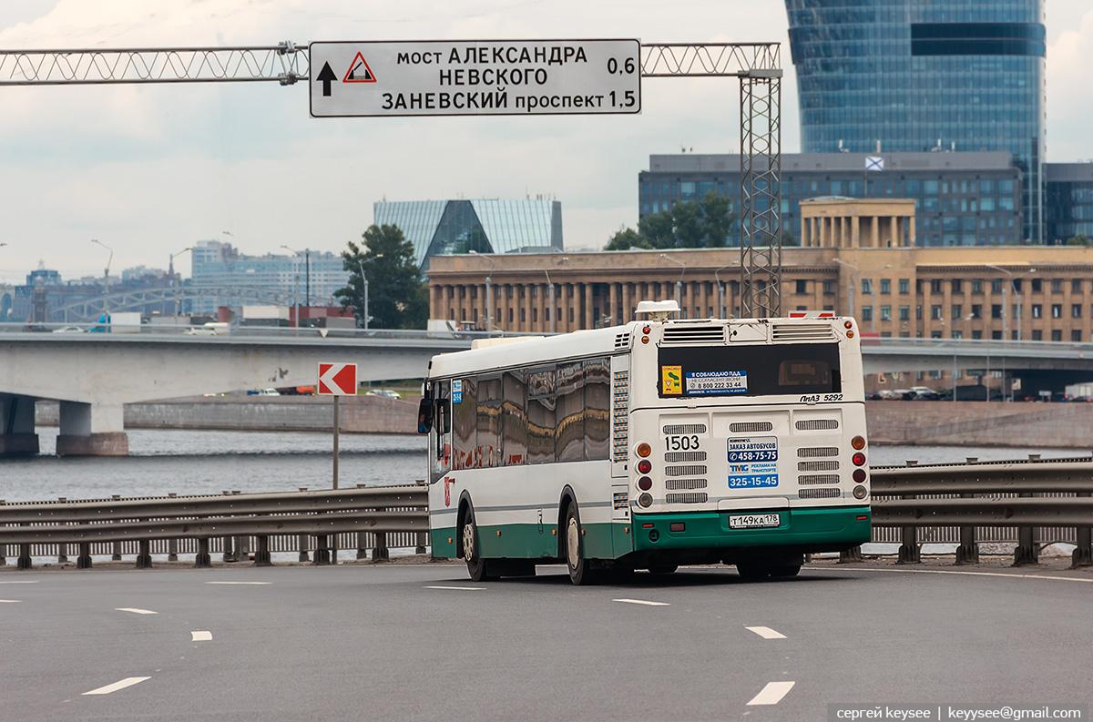 Санкт-Петербург. ЛиАЗ-5292.60 т149ка