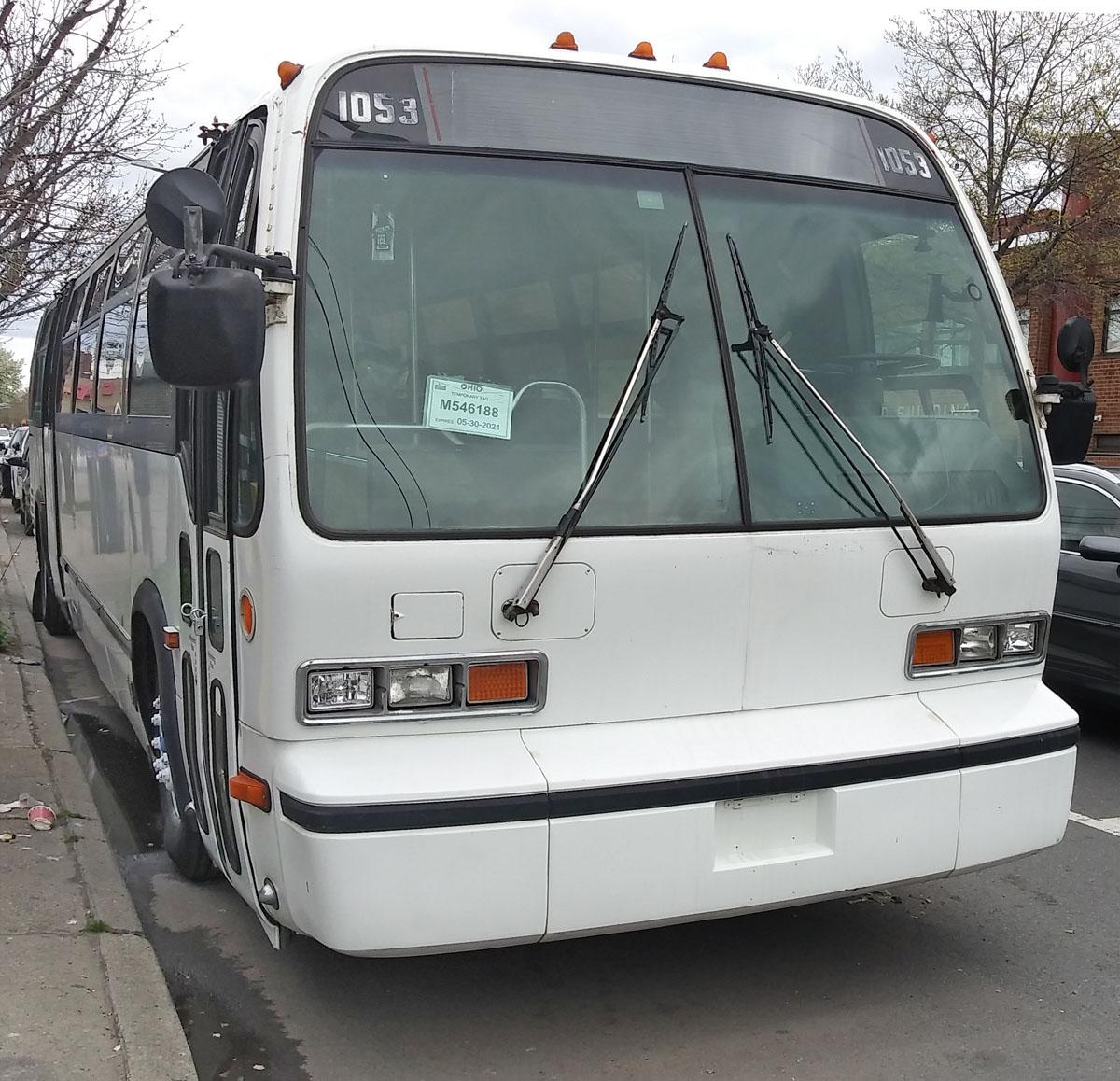 Нью-Йорк. Novabus RTS M546188