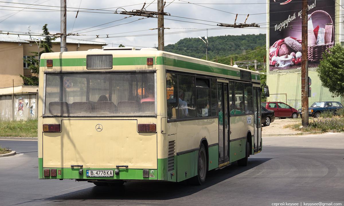 Варна. Mercedes-Benz O405N B 4778 KA