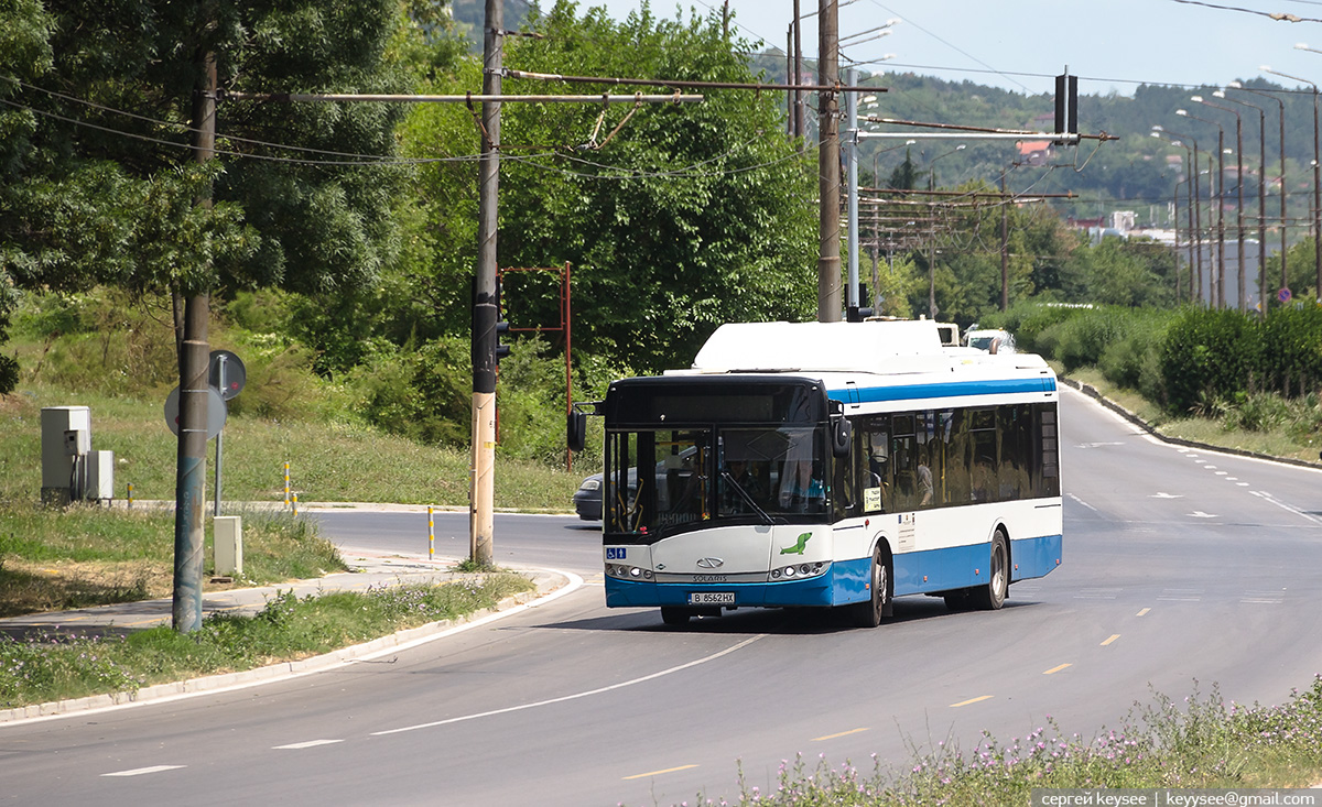 Варна. Solaris Urbino 12 CNG B 8562 HX