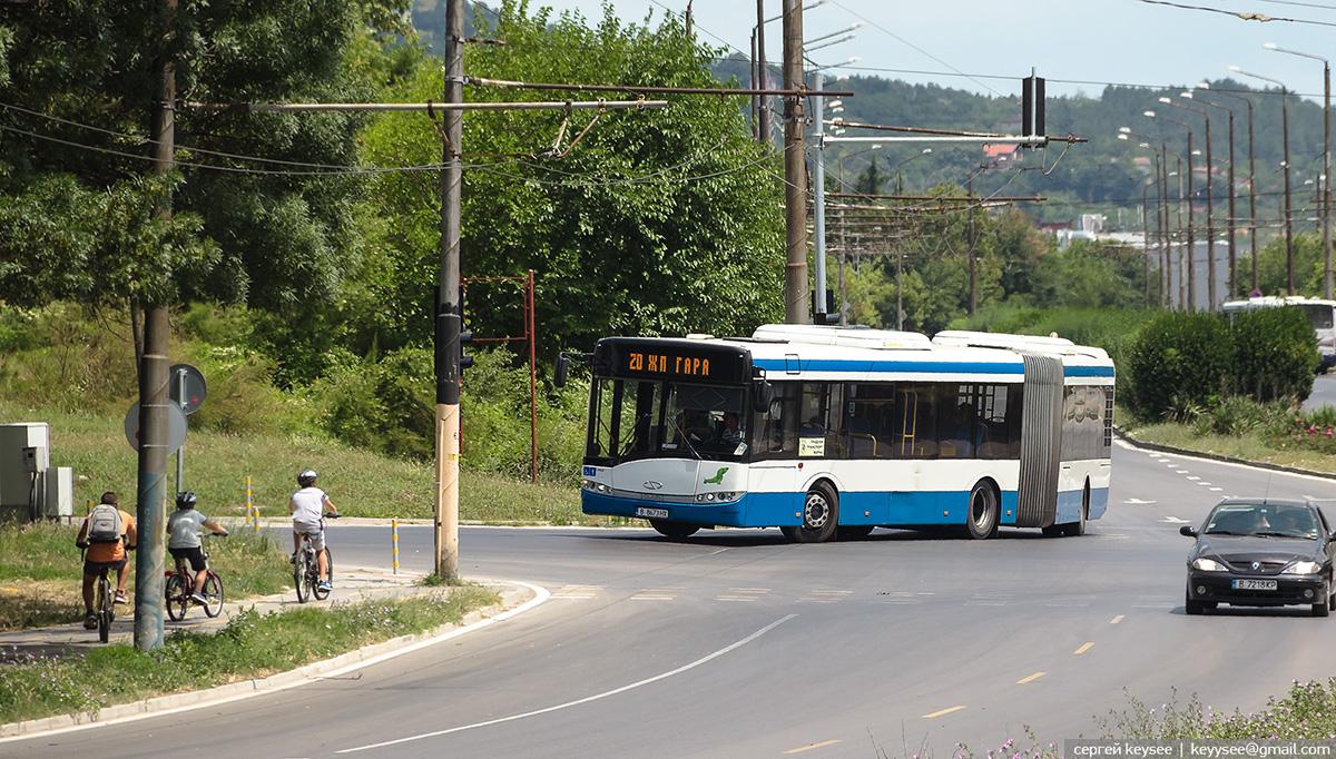 Варна. Solaris Urbino 18 B 8673 HX