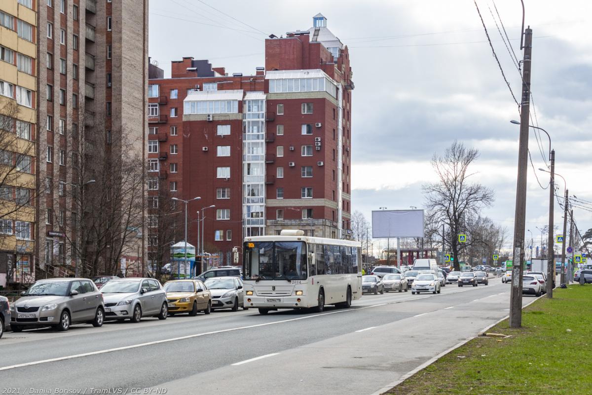 Санкт-Петербург. НефАЗ-52994-10 в329мх