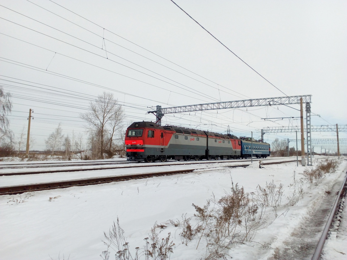 Челябинск. 2ЭС6-514 Синара