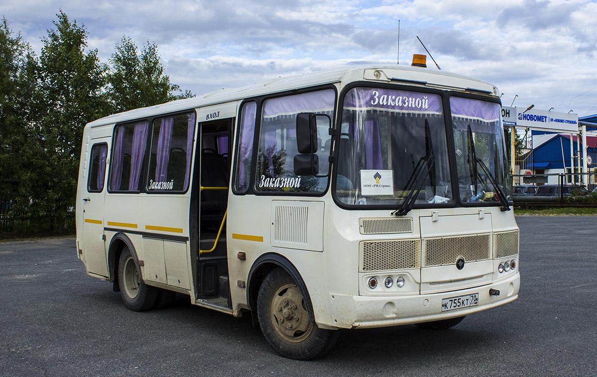 Стрежевой. ПАЗ-32053 к755кт