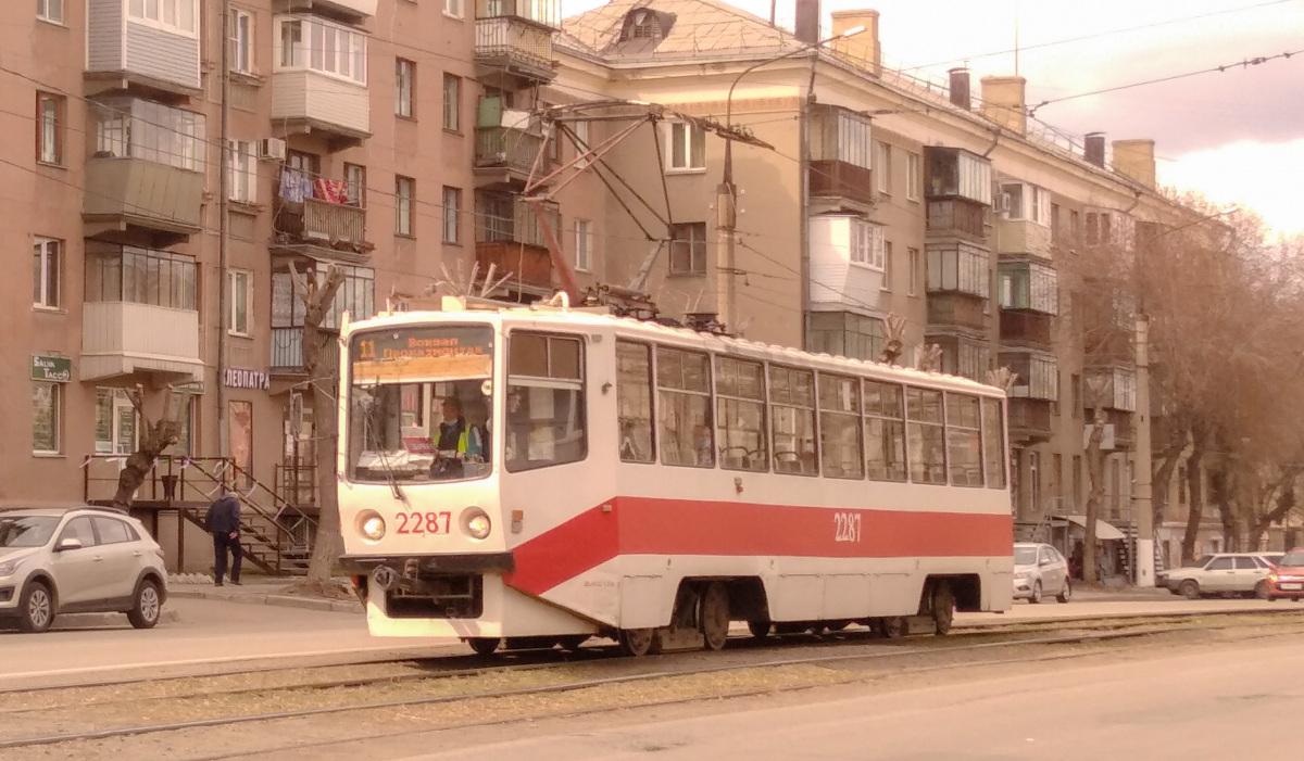 Магнитогорск. 71-608КМ (КТМ-8М) №2287