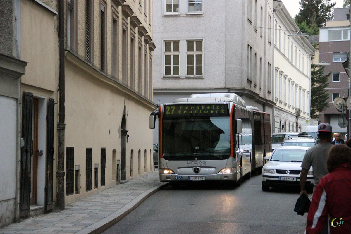 Линц. Mercedes-Benz O530 Citaro G CNG L 159 GW