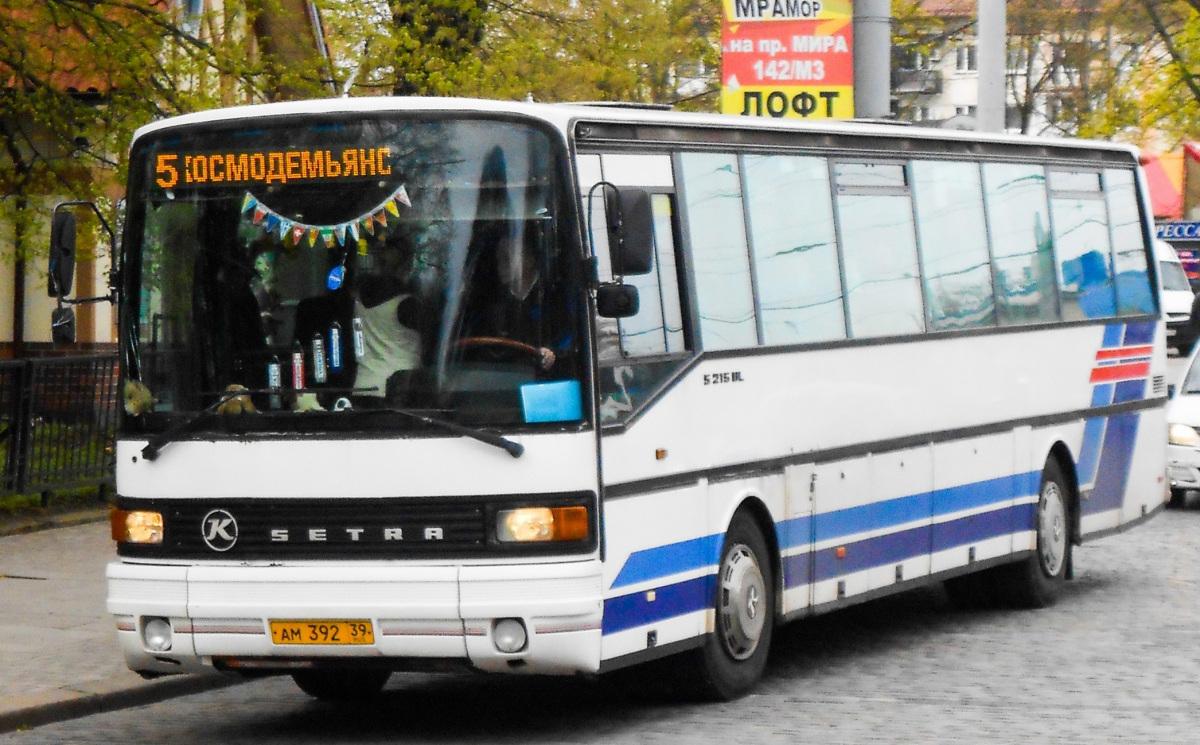Калининград. Setra S215UL ам392