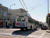 Сан-Франциско. Škoda 14TrSF №5582