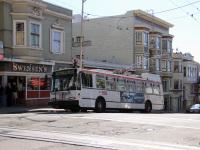Сан-Франциско. Škoda 14TrSF №5620