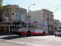 Сан-Франциско. Škoda 14TrSF №5570