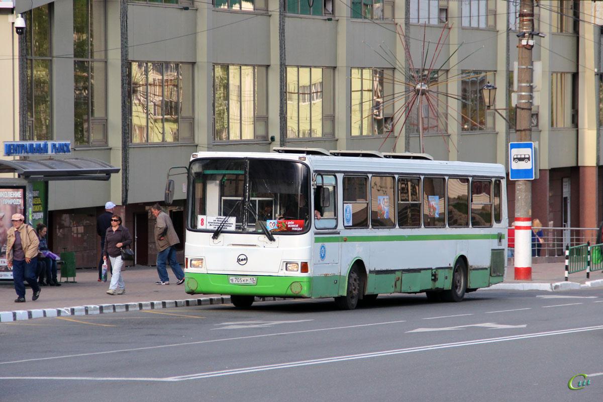 Саранск. ЛиАЗ-5256.26 е705кр