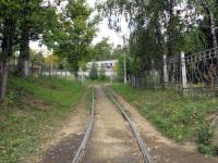 Смоленск. Заезд в трамвайное депо
