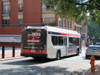 Филадельфия. New Flyer XDE40 MT47499