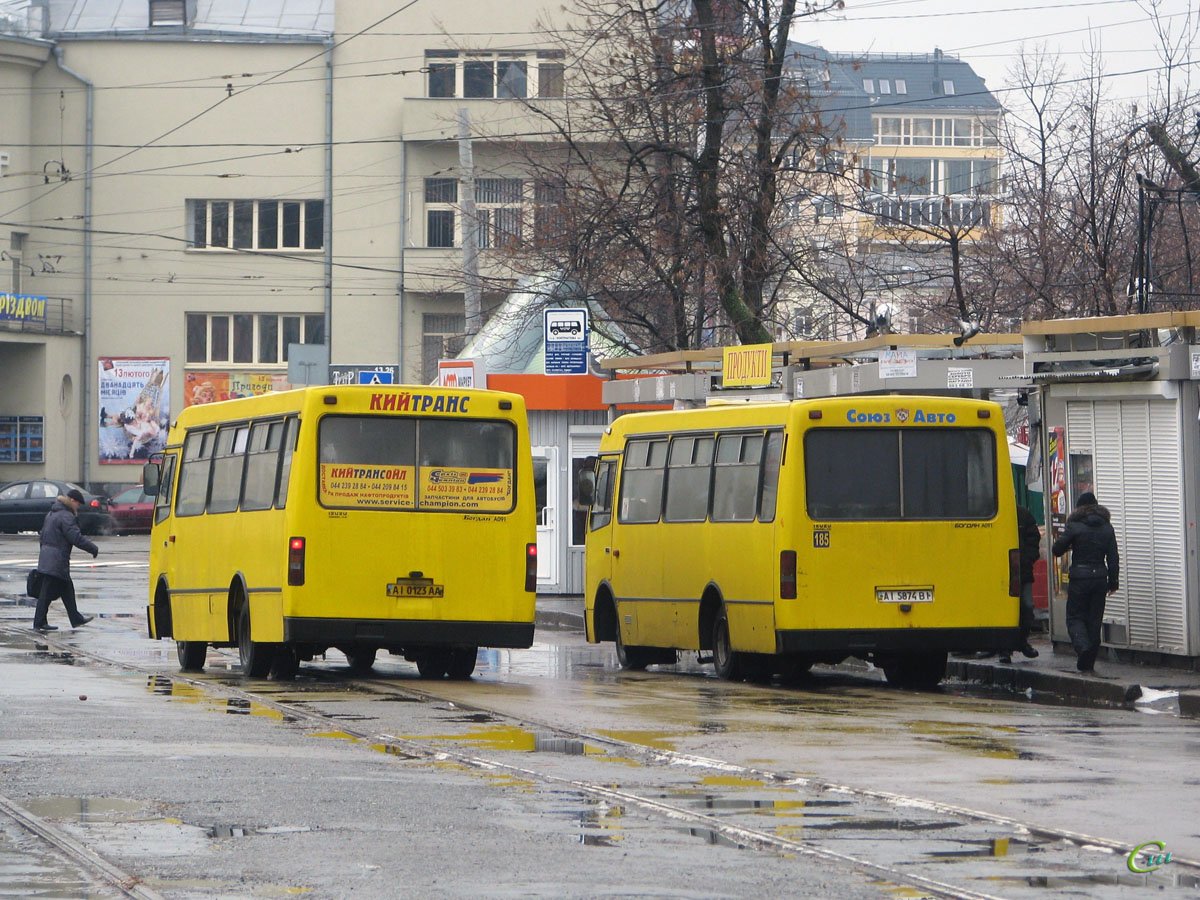 Киев. Богдан А091 AI0123AA, Богдан А091 AI5874BI