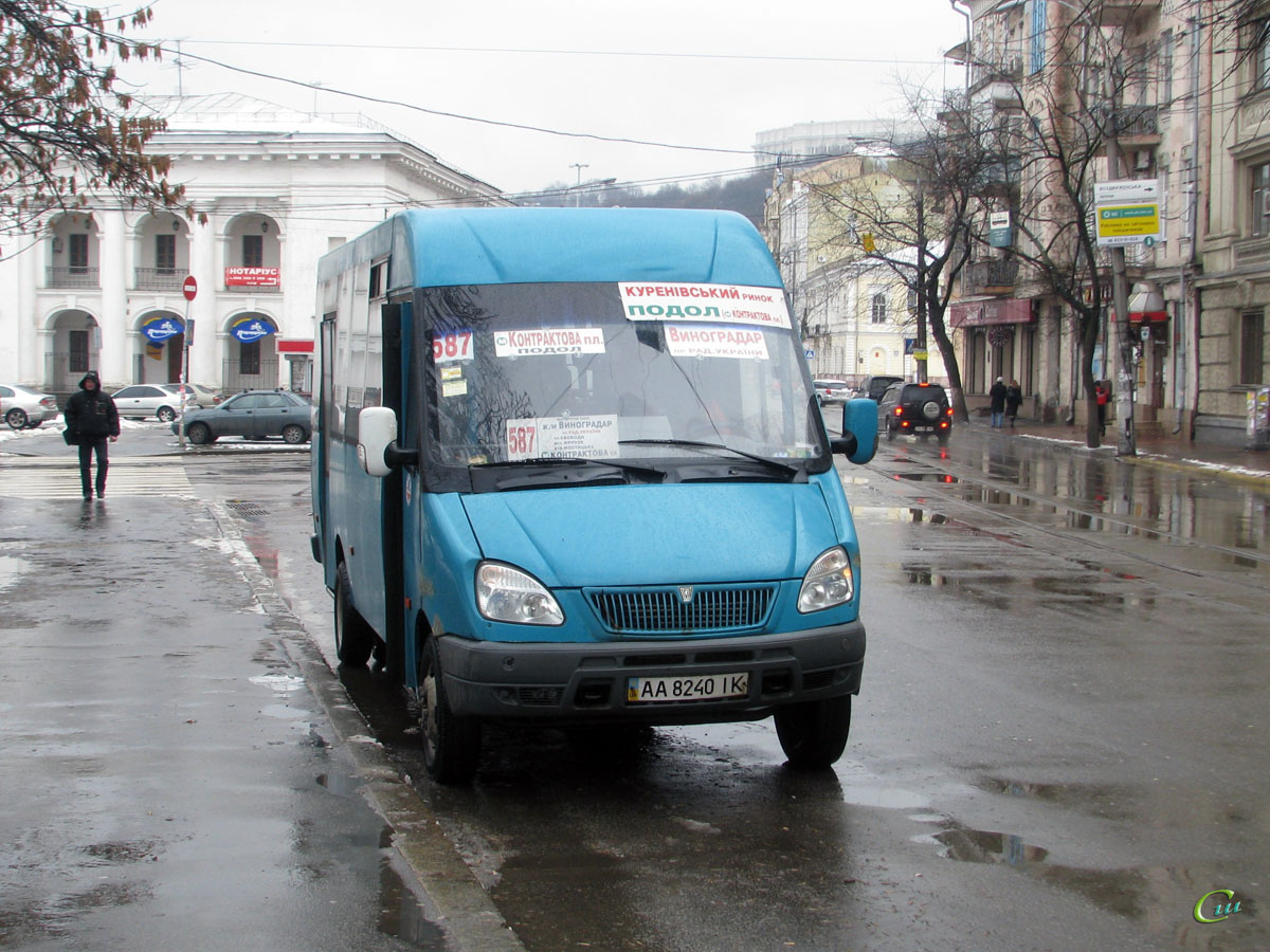 Киев. Рута 25 AA8240IK
