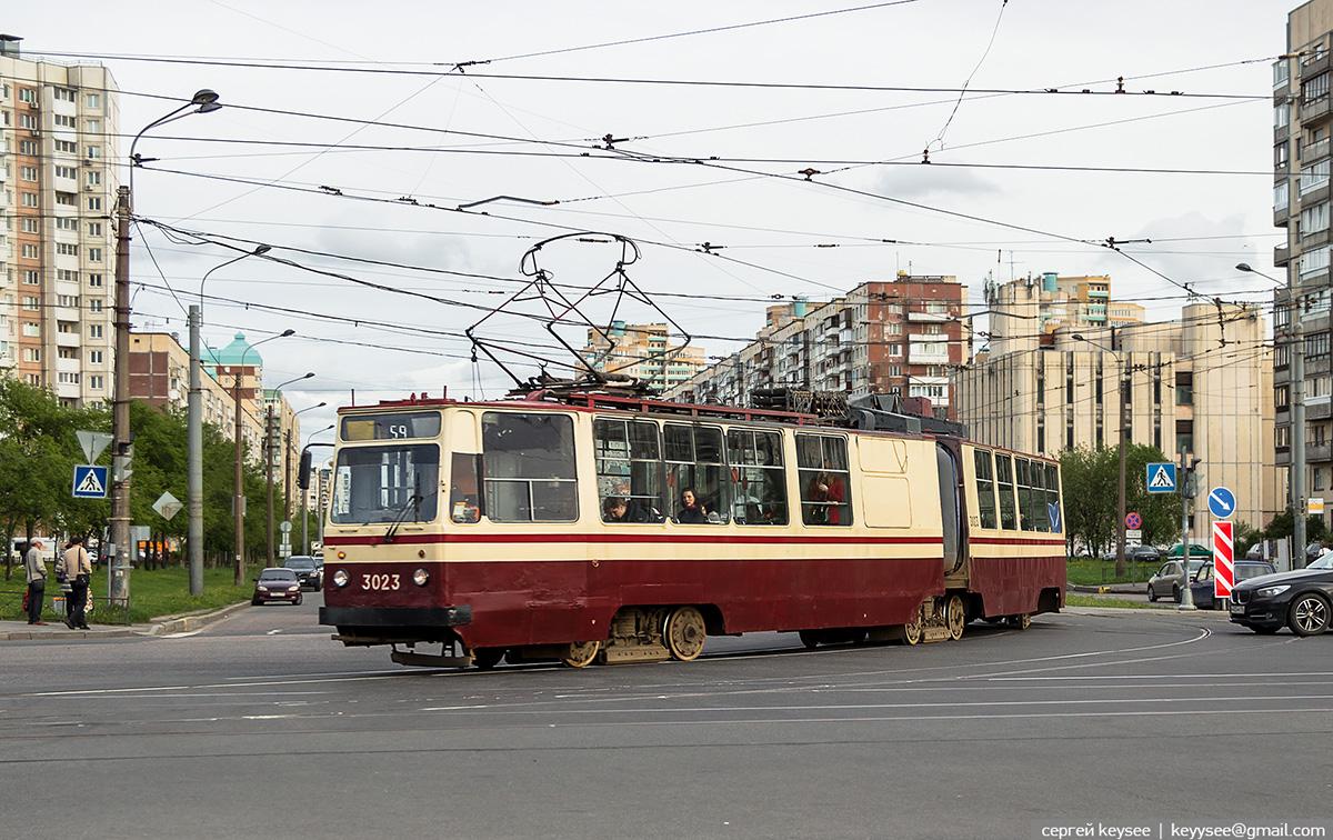 Санкт-Петербург. ЛВС-86К №3023