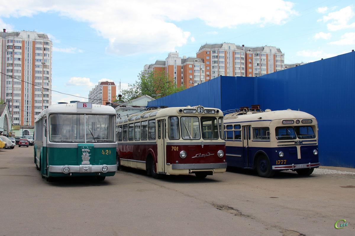 Москва. СВАРЗ ТБЭС №421, СВАРЗ МТБЭС №701, МТБ-82Д №1777