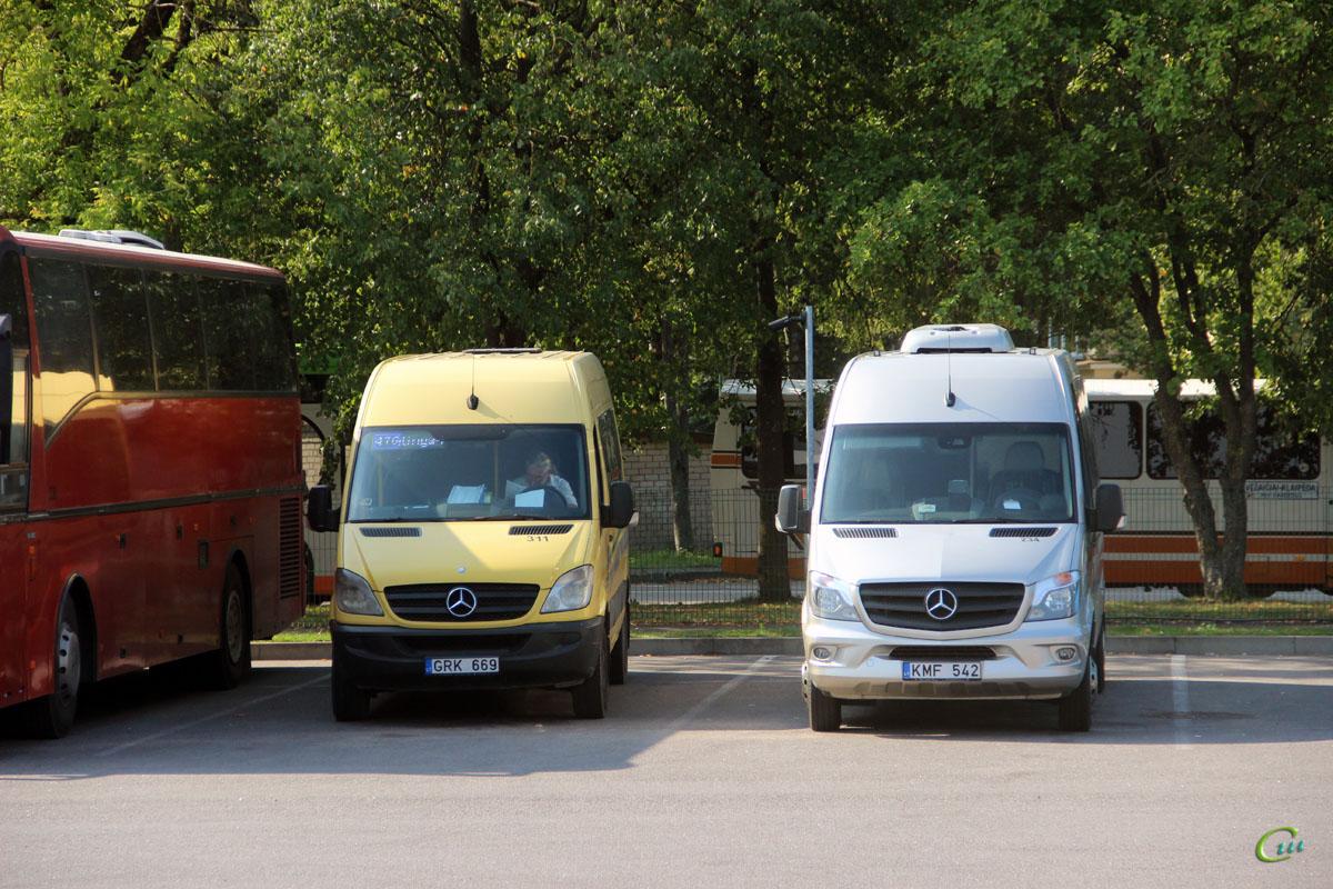 Клайпеда. Altas Tourline KMF 542, Universāls (Mercedes-Benz Sprinter 315CDI) GRK 669