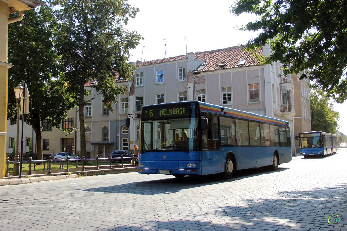Клайпеда. MAN A21 NL263 GOP 600, MAN A23 NG313 HRU 127