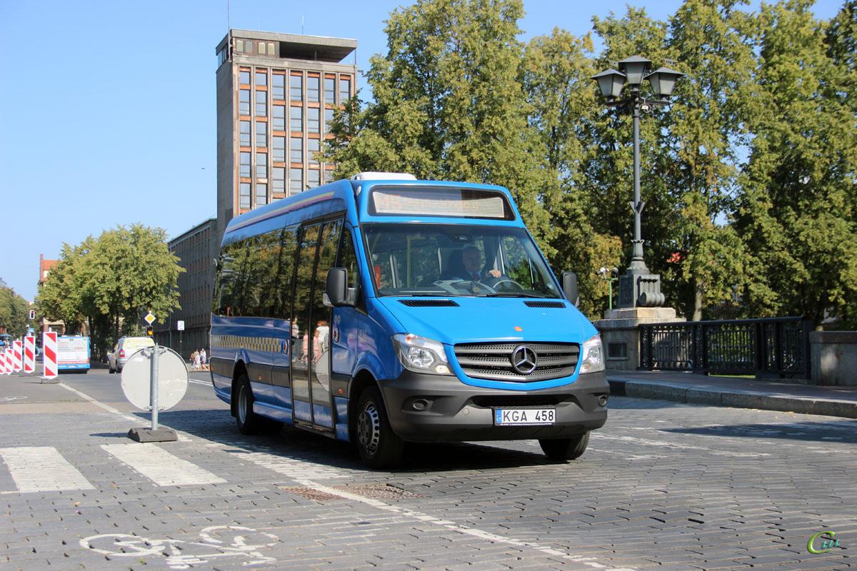Клайпеда. Altas Cityline KGA 458