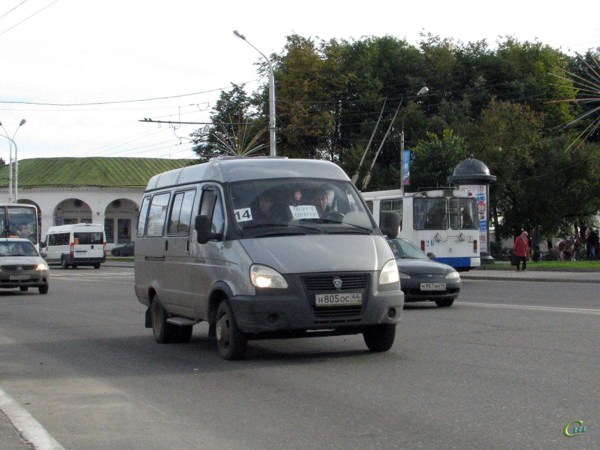 Кострома. ГАЗель (все модификации) н805ос