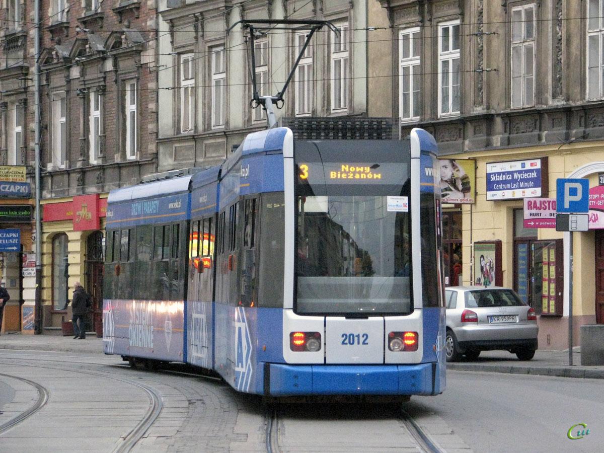Краков. Bombardier NGT6 №2012