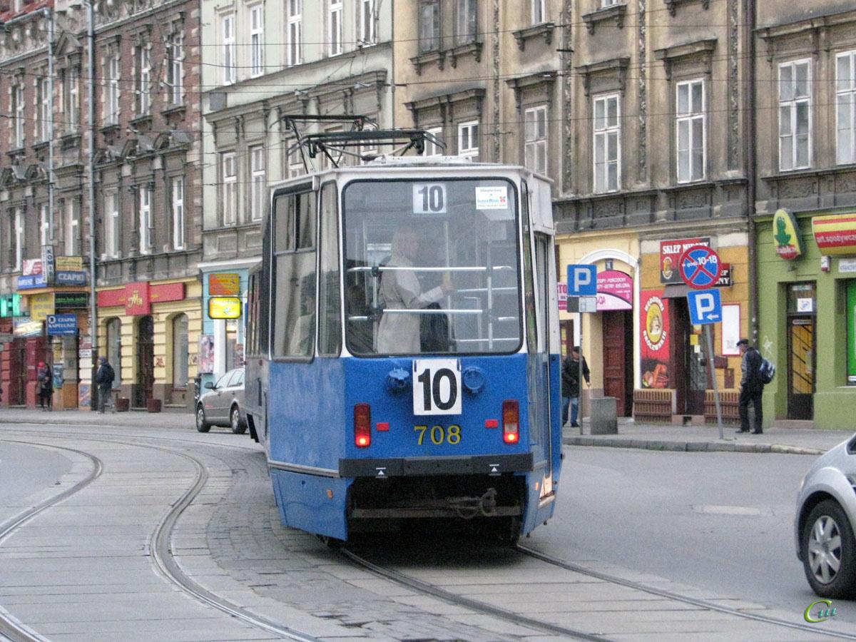 Краков. Konstal 105Na №708