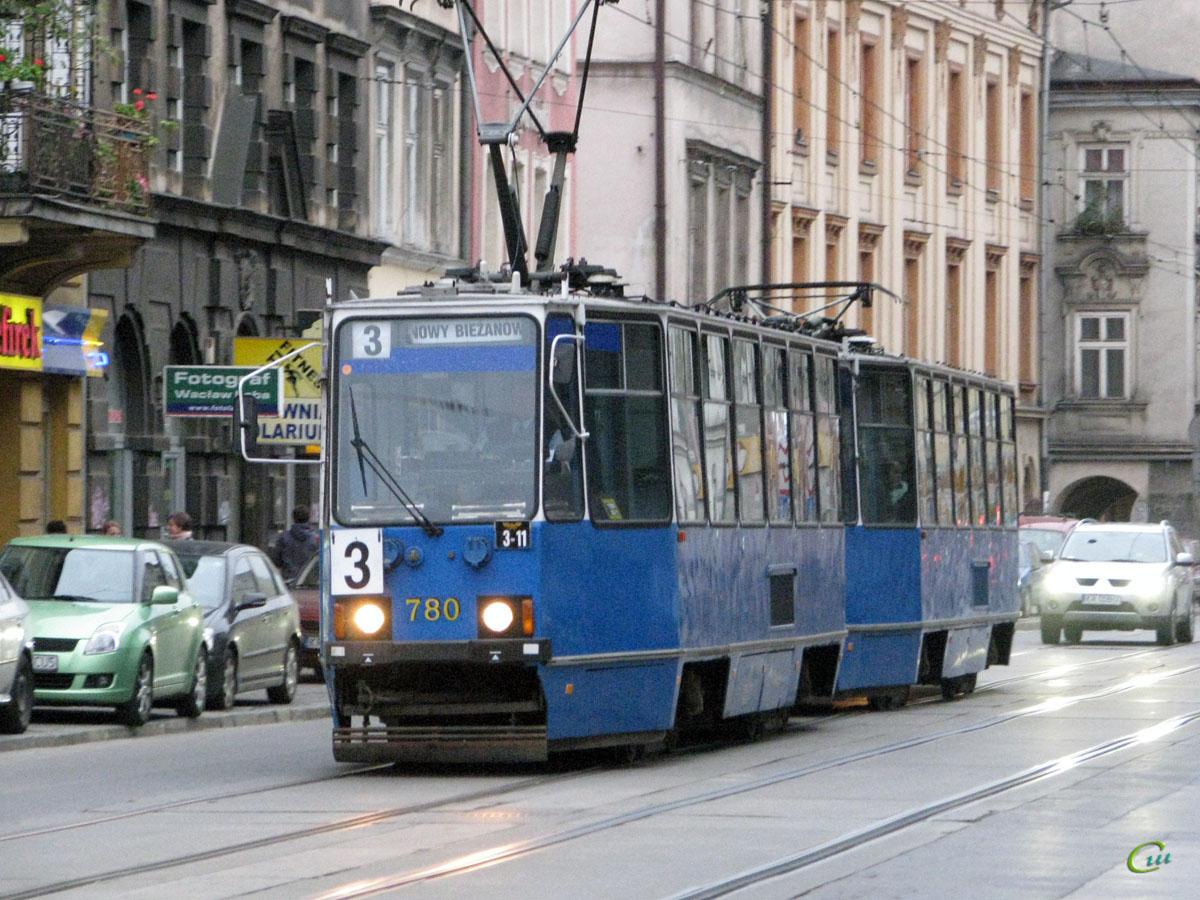 Краков. Konstal 105Na №780, Konstal 105Na №781