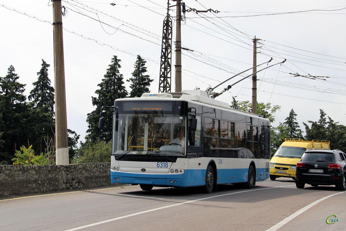 Ялта. Богдан Т60111 №6318, Ford Transit AK0805AI