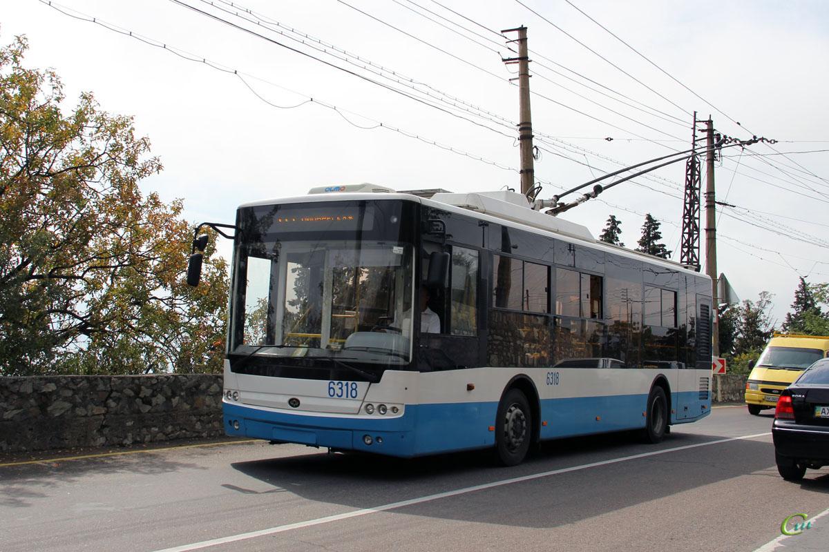 Ялта. Богдан Т60111 №6318