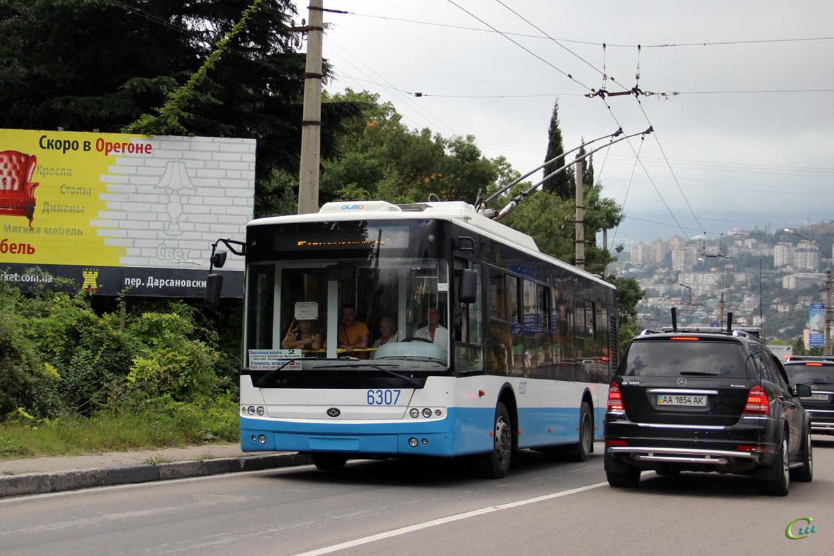 Ялта. Богдан Т60111 №6307