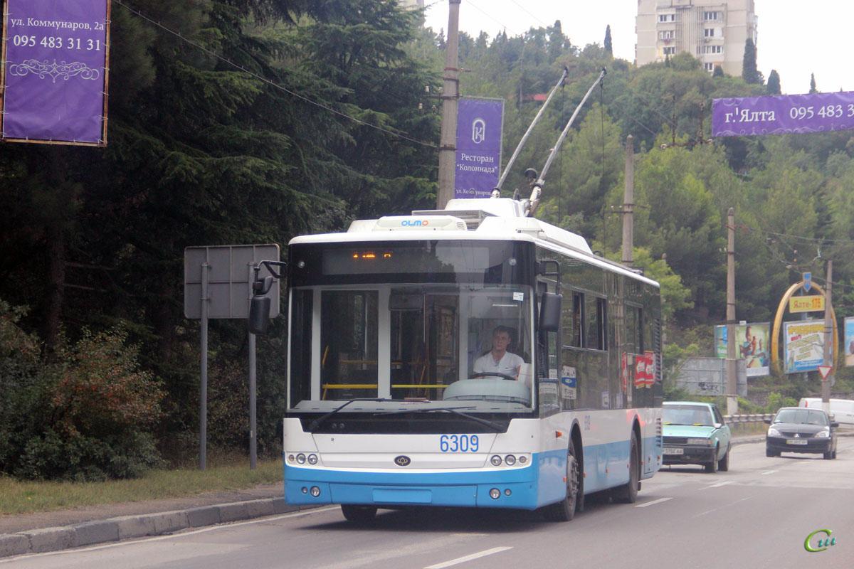 Ялта. Богдан Т60111 №6309