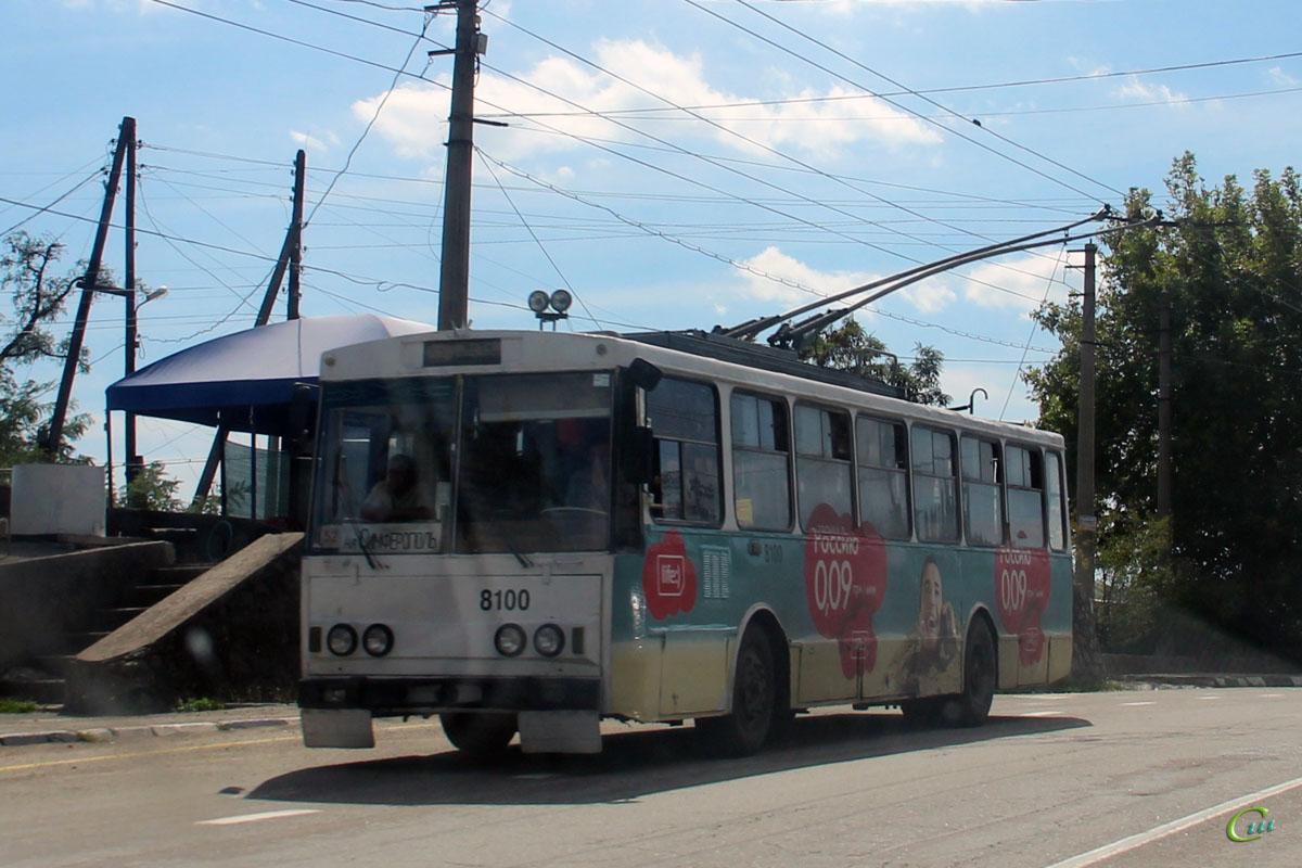 Ялта. Škoda 14Tr89/6 №8100