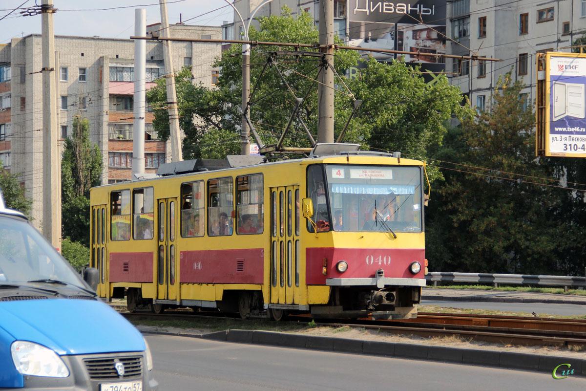 Курск. Tatra T6B5 (Tatra T3M) №040