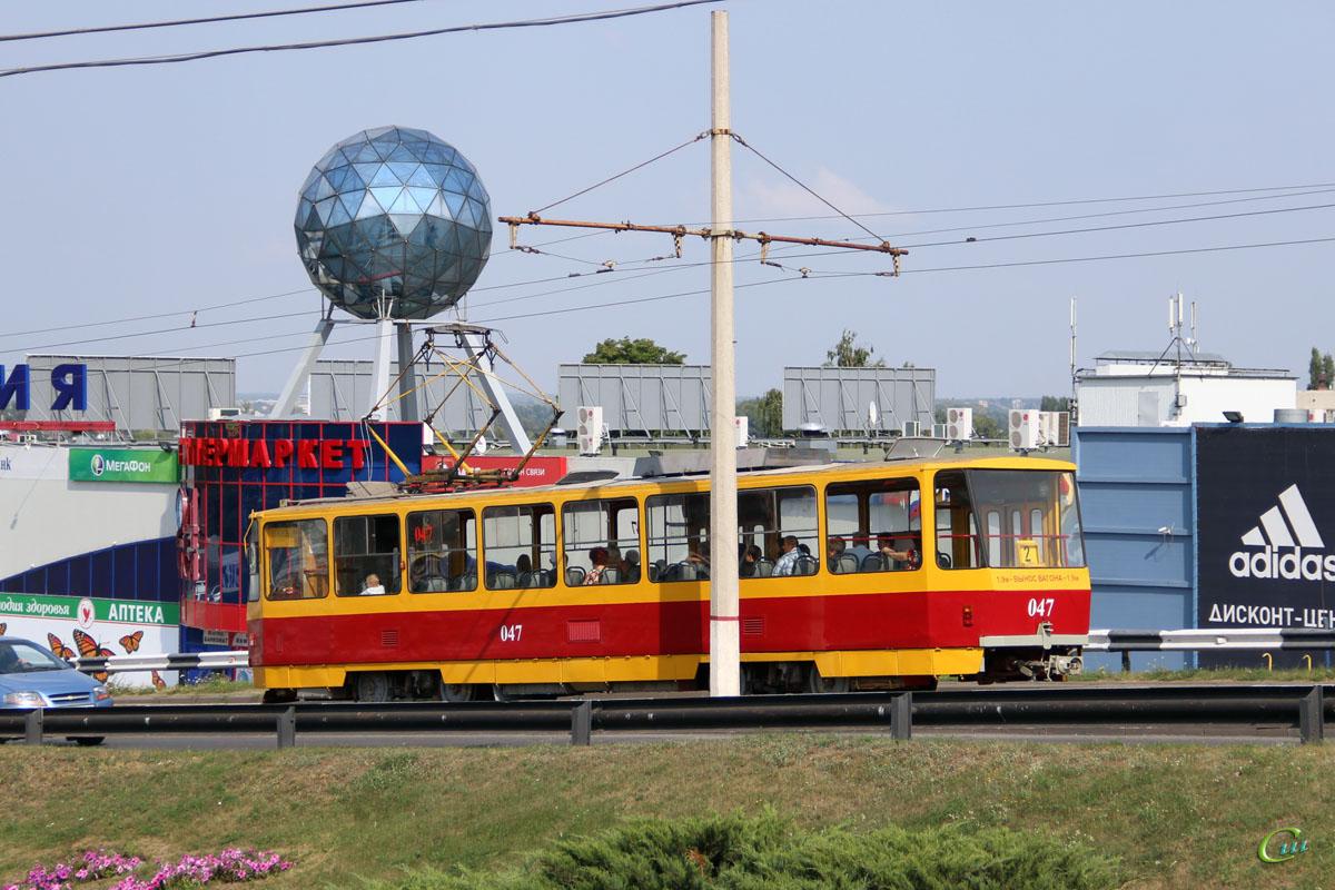 Курск. Tatra T6B5 (Tatra T3M) №047