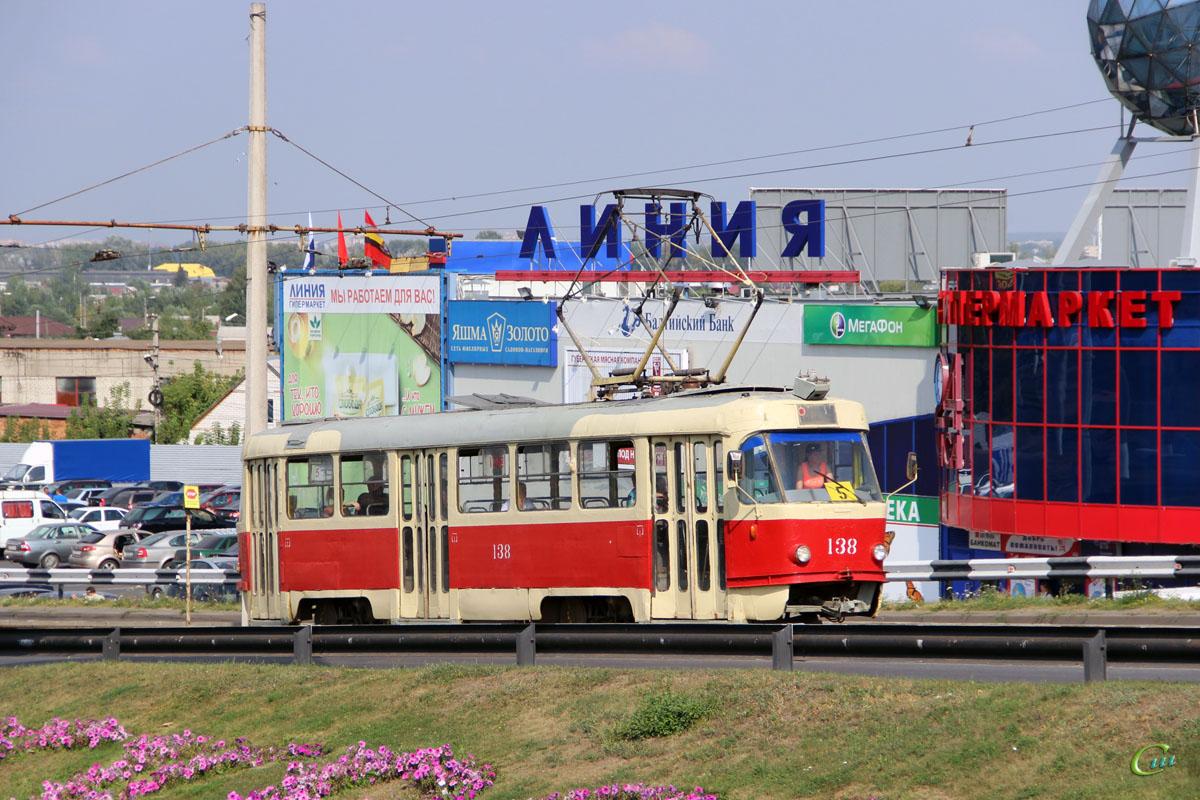 Курск. Tatra T3SU №138