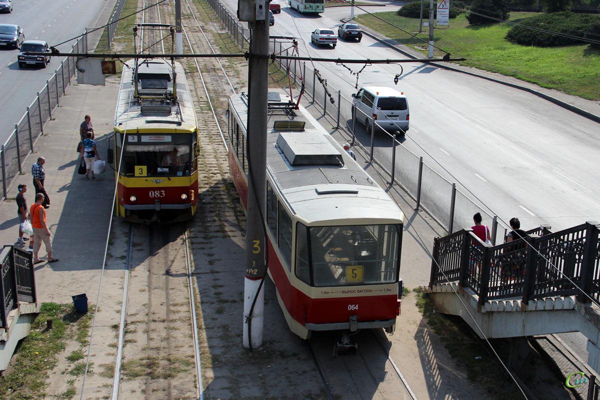 Курск. Tatra T6B5 (Tatra T3M) №064, Tatra T6B5 (Tatra T3M) №083