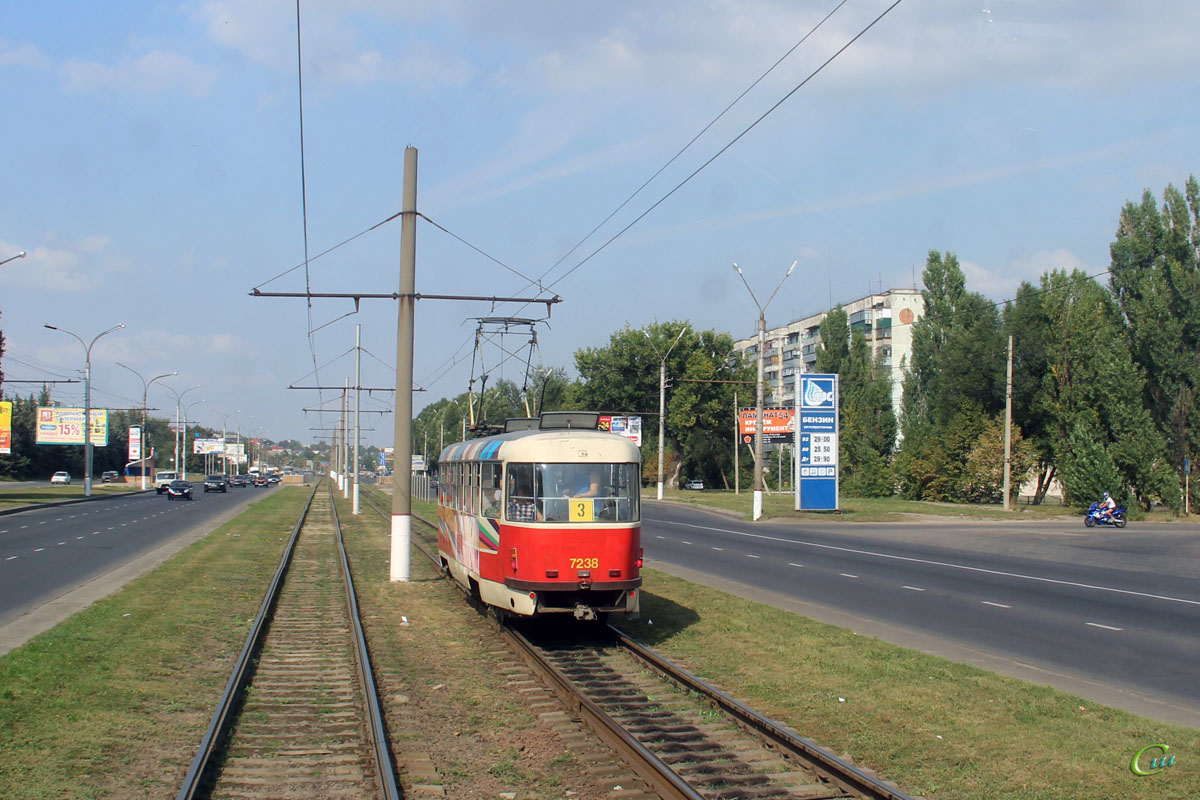 Курск. Tatra T3SUCS №7238