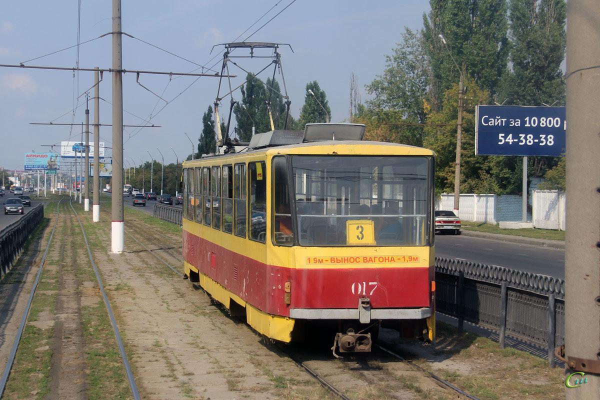Курск. Tatra T6B5 (Tatra T3M) №017