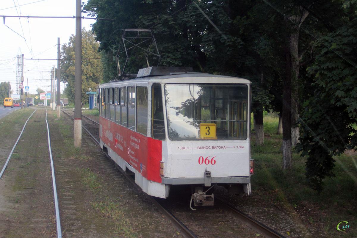 Курск. Tatra T6B5 (Tatra T3M) №066