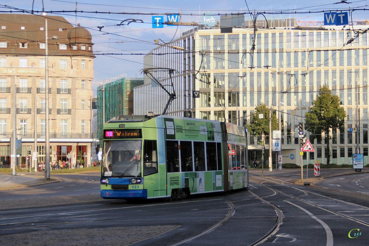 Лейпциг. Bautzen NGT8 №1123