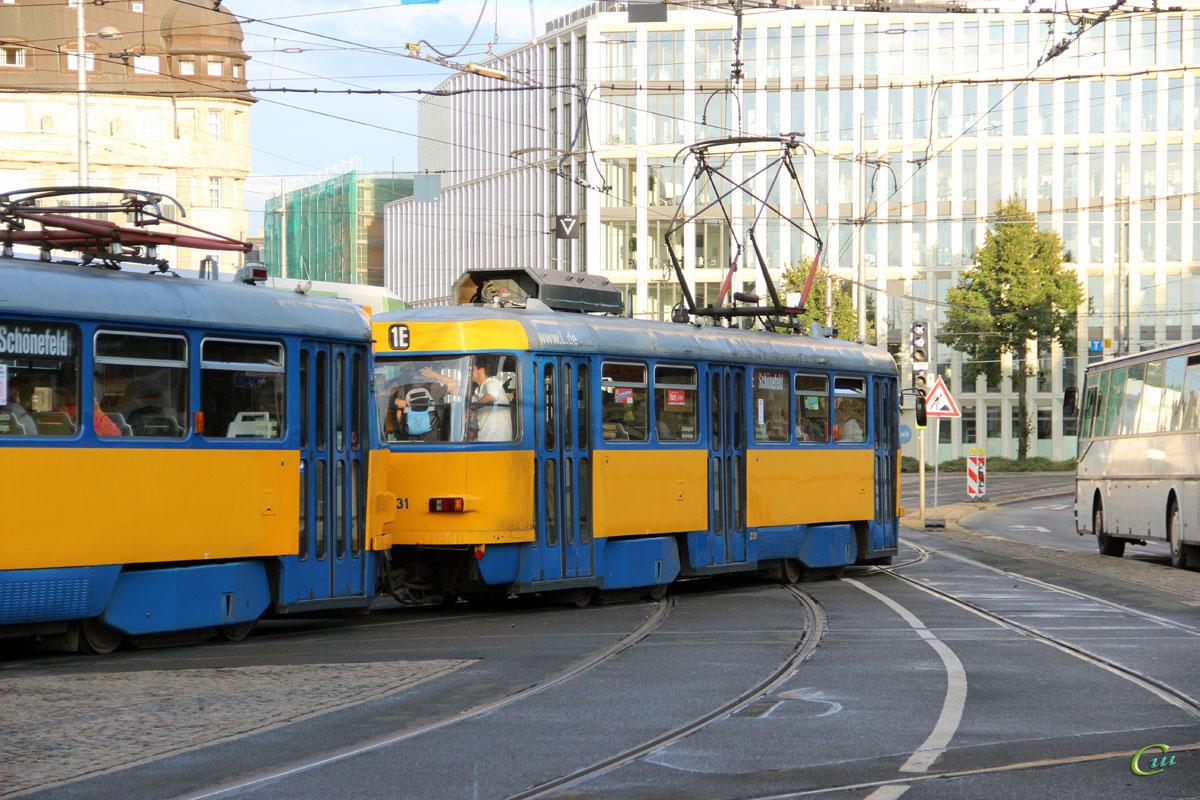 Лейпциг. Tatra T4D-M1 №2127, Tatra T4D-M1 №2131